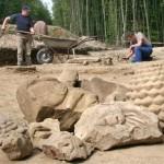 Tholey: Archäologisches Grabungscamp gibt interessante Einblicke in die Arbeit bei Ausgrabungen