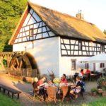 Alte Handwerkskunst und öffentliche Führung an der Johann-Adams-Mühle