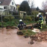 Oberthal: Starke Regenfälle sorgten für Überschwemmung