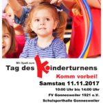 Gonnesweiler: Tag des Kinderturnens am Samstag