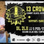 St. Wendel: 13 Crowes – Punk-Rock n' Roll aus Schottland in JJs Pub