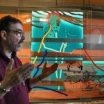 Der Hl. Wendelin ist eingezogen – Installationskunst am Gymnasium Wendalinum