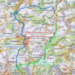 Vollsperrung des Verkehrsknotenpunktes B420/L124 in Ottweiler