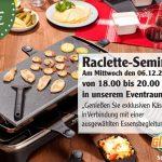 Raclette Seminar im Globus St. Wendel – jetzt mitmachen und gewinnen
