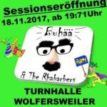 Wolfersweiler: Sessionseröffnungsparty mit Buhää & the Rhabarbers