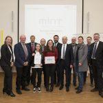 Gymnasium Wendalinum für die Arbeit im MINT- und im Digital-Bereich geehrt