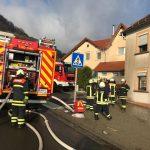 Tholey: Wohnhausbrand sorgte für Feuerwehreinsatz