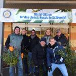 Rotarier sammelten Geld für den guten Zweck