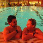 Mondscheinschwimmen und Sauna-Nacht im Erlebnisbad Schaumberg