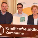 """Marpingen und Nohfelden sind """"familienfreundliche Kommunen"""""""