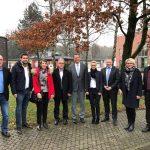 Nadine Schön und Staatssekretär Dr. Ralf Brauksiepe besuchen HIL GmbH in St. Wendel