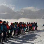 Schüler tauschen die Schulbank gegen die Skipiste