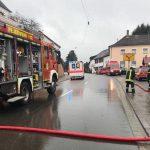 Marpingen: Feuerwehr rettet Menschen aus Haus