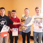 Planspiel Börse: Das Team der Landessieger kommt vom Gymnasium Wendalinum in St. Wendel