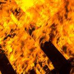 Freisen: Holzpaletten angezündet