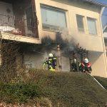 Bliesen: Feuerwehr löschte Balkonbrand
