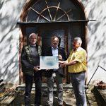 Umweltministerium unterstützt die Sanierung der kleinen Dorfkapelle in Primstal