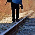 Streckenbegehung auf der Hochwaldbahn von Türkismühle nach Sötern