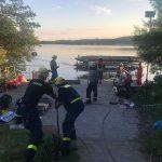 Schiffsunfall am Bostalsee: Schnelles Eingreifen verhinderte Unglück