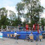 Amateurboxer lassen bei Open Air Boxgala auf dem Schaumberg die Fäuste fliegen