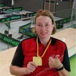 Hasbornerin Nikola Jäckel dreifache Deutsche Meisterin im Tischtennis