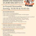 """Kinder- und Familienfest zum 25. Jubiläum von """"Was geht?! e.V."""""""