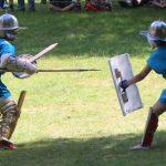 Einzug der Gladiatoren im Wareswald