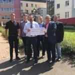 St. Wendel: Pilgertour bringt 9.000 EUR – Spende für Stiftung Hospital