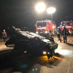 Bergweiler: schwerer Unfall – Auto überschlug sich