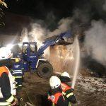 St. Wendel und Baltersweiler: Winkenbacherhof brannte