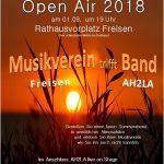 Der Musikverein Freisen lädt zum Spätsommerabend