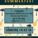 Jugendclub Primstal lädt zum Sommerfest