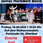 Open-Air-Konzert mit der James HerbBert Band