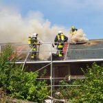 Selbach: Wochenendhaus brannte