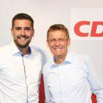 Stabwechsel an der Spitze des CDU Stadtverbandes St. Wendel – Alexander Zeyer folgt auf Peter Klär