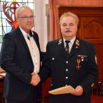 Namborn: Landrat Recktenwald überreicht Joachim Fritz das Bundesverdienstkreuz