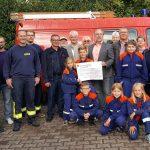 Asweiler-Eitzweiler: Spendenübergabe an die Jugendfeuerwehr