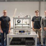 Student und Professor aus Gemeinde Namborn bauen 3D-Drucker