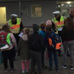 St. Wendel: Innenminister Bouillon und Polizei informieren über sicheren Schulweg in der dunklen Jahreszeit