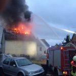 Nonnweiler: Dachstuhlbrand sorgte für Feuerwehr-Großeinsatz