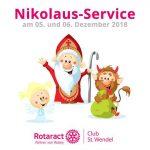 St. Wendel: Nikolaus-Service des Rotaract Club