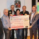 St. Wendel: Scheckübergabe an Kinderhospizdienst Saar und Lebenshilfe St. Wendel