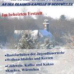 Bergweiler: Adventsmarkt an der Erasmuskapelle