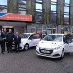 St. Wendel: Sparen mit Gewinn, Helfen mit Herz – Unsere Volksbank eG stiftet je einen neuen Peugeot an karitative Einrichtungen