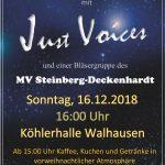 Weihnachtskonzert in Walhausen