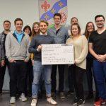 Jugendclub Urweiler spendet 2.800€ an Jugend gegen AIDS e. V.