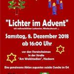Lichter im Advent in Hasborn-Dautweiler