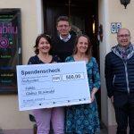 St. Wendel: Bürgermeister Peter Klär überreicht Spende an Familienzentrum Fabilu