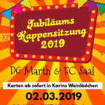 Niederkirchen: Dorfgemeinschaft Marth und Freizeitclub Saal laden zur Kappensitzung