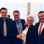 Der SPD St. Wendel Stadtverband traf sich zum  Neujahrsempfang im Impuls-Forum der Stiftung Hospital